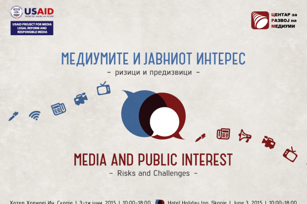 Regional conference: Media and Public Interest – Risks and Challenges