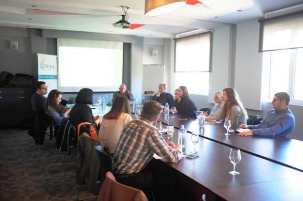 (Македонски) Одржана втората работилница за влијанието на граѓаните врз работата на МРТ и АВМУ