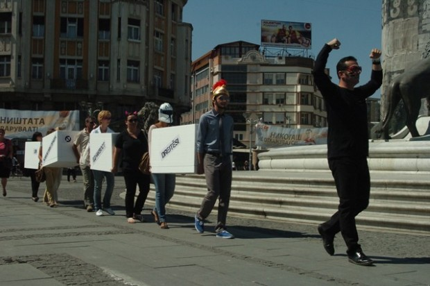 Freedom and Human Rights Thrown Away in a Satirical Performance of Civil NGO