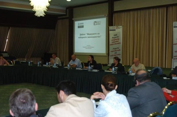 Public Debate: Media in Electoral Legislation