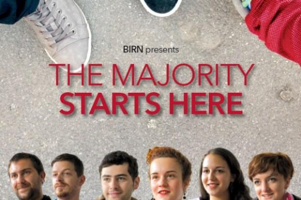 Премиера на Мнозинството почнува тука – филм за младите и војната